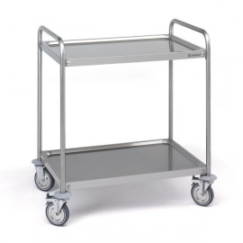 CHARIOT DE TRANSPORT 2 ETAGERES  900X500 CS-209