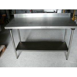 Table inox mat riel restauration distriworks for Table restauration professionnel